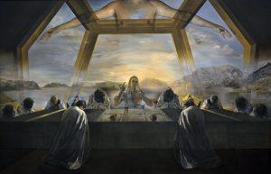 Dali the Sacrament of the Last Supper